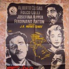Cine: (CINE-521)CARTEL ORIGINAL TODOS SOMOS NECESARIOS - ALBERTO CLOSAS. Lote 217501241