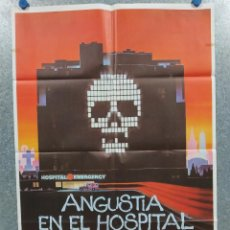 Cine: ANGUSTIA EN EL HOSPITAL CENTRAL. MICHAEL IRONSIDE, LEE GRANT, LINDA PURL. AÑO 1982. POSTER ORIGINAL. Lote 217674571