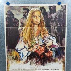Cine: FLOR DE SANTIDAD. ELIANA DE SANTIS, ISMAEL MERLO, ANTONIO CASAS. AÑO 1973. POSTER ORIGINAL. Lote 217677140