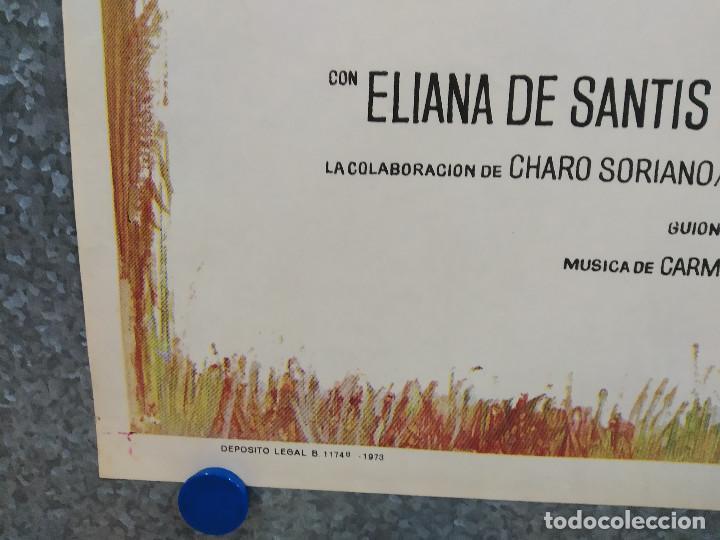 Cine: Flor de santidad. Eliana de Santis, Ismael Merlo, Antonio Casas. AÑO 1973. POSTER ORIGINAL - Foto 6 - 217677140