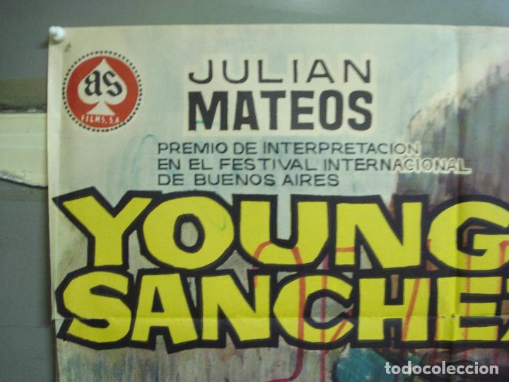 Cine: CDO 5011 YOUNG SANCHEZ BOXEO CINE ESPAÑOL JULIAN MATEOS IQUINO POSTER ORIGINAL 70X100 ESTRENO - Foto 2 - 217727036