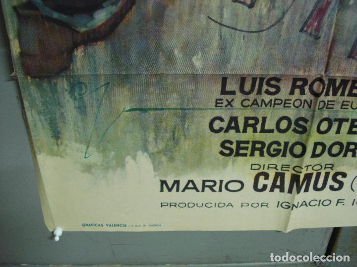 Cine: CDO 5011 YOUNG SANCHEZ BOXEO CINE ESPAÑOL JULIAN MATEOS IQUINO POSTER ORIGINAL 70X100 ESTRENO - Foto 5 - 217727036
