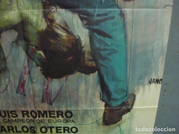 Cine: CDO 5011 YOUNG SANCHEZ BOXEO CINE ESPAÑOL JULIAN MATEOS IQUINO POSTER ORIGINAL 70X100 ESTRENO - Foto 8 - 217727036