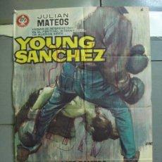 Cine: CDO 5011 YOUNG SANCHEZ BOXEO CINE ESPAÑOL JULIAN MATEOS IQUINO POSTER ORIGINAL 70X100 ESTRENO. Lote 217727036