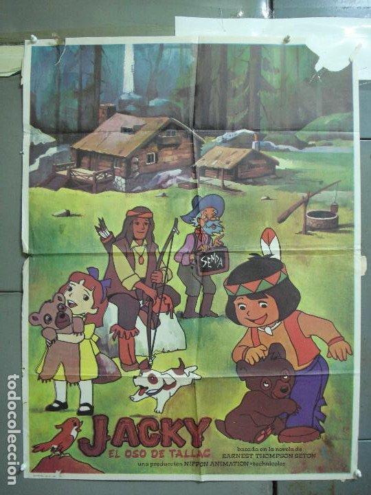 CDO 5018 JACKY EL OSO DE TALLAC SERIE TV ANIMACION HELENA POSTER ORIGINAL 70X100 ESTRENO (Cine - Posters y Carteles - Infantil)