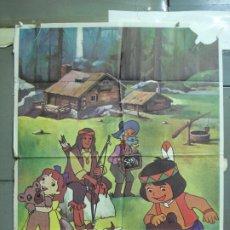 Cine: CDO 5018 JACKY EL OSO DE TALLAC SERIE TV ANIMACION HELENA POSTER ORIGINAL 70X100 ESTRENO. Lote 217730477