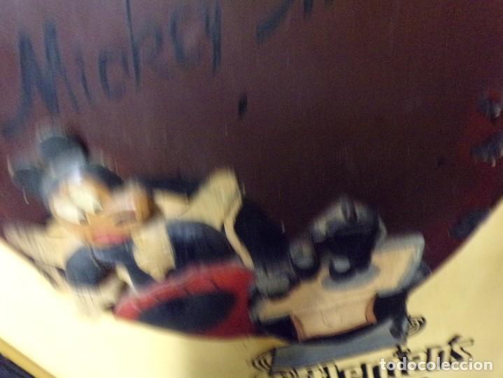 Cine: muy antiguo cartel de cine de madera walt disney mickey mouse gentleman - Foto 3 - 217788171