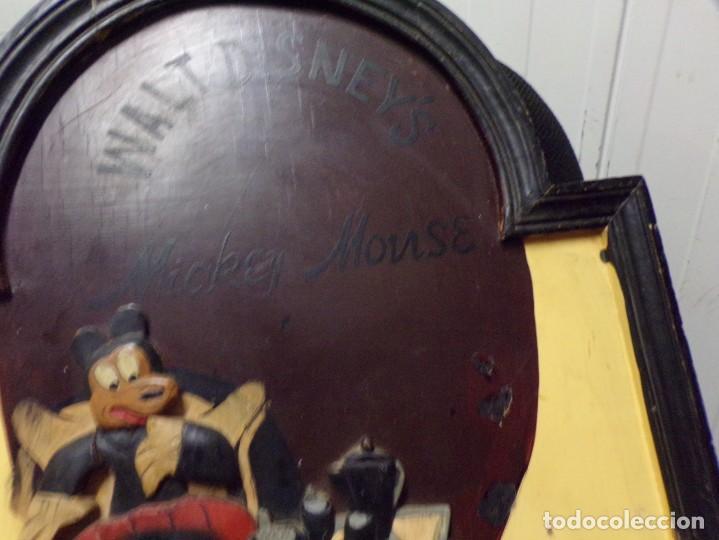 Cine: muy antiguo cartel de cine de madera walt disney mickey mouse gentleman - Foto 7 - 217788171