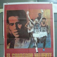 Cine: CDO 5063 EL CORREDOR VALIENTE ROBBY BENSON ATLETISMO OLIMPIADAS POSTER ORIGINAL 70X100 ESTRENO. Lote 217808730