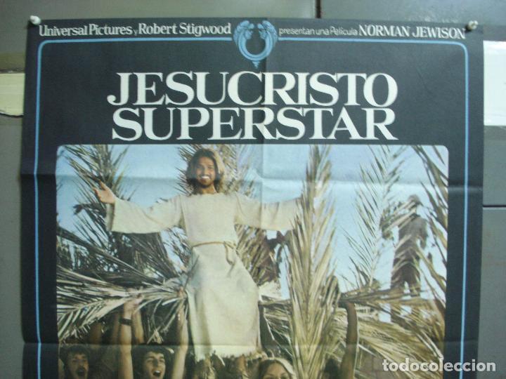 Cine: CDO 5065 JESUCRISTO SUPERSTAR NORMAN JEWISON TED NEELEY ORIGINAL 70X100 ESTRENO - Foto 2 - 217810207