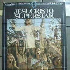 Cine: CDO 5065 JESUCRISTO SUPERSTAR NORMAN JEWISON TED NEELEY ORIGINAL 70X100 ESTRENO. Lote 217810207