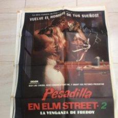 Cine: CARTEL CINE PESADILLA EN ELM STREET 2. Lote 217828205