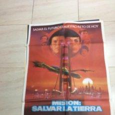 Cine: CARTEL STAR TREK MISION SALVAR LA TIERRA. Lote 217829020