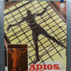 Cinema: ADIÓS TÍO TOM. GUALTIERO JACOPETTI, FRANCO PROSPER, ESCLAVITUD. AÑO 1980. POSTER ORIGINAL. Lote 217842533