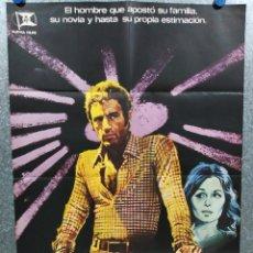 Cine: EL JUGADOR. JAMES CAAN, PAUL SORVINO, LAUREN HUTTON AÑO 1976. POSTER ORIGINAL. Lote 217922282