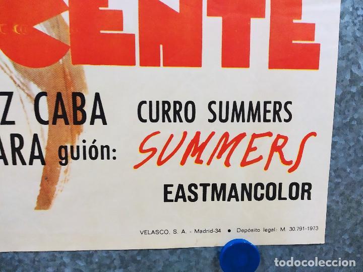 Cine: Cebo para una adolescente. Claudia Cardinale, Emilio Gutiérrez Caba. AÑO 1973. POSTER ORIGINAL - Foto 5 - 217924216