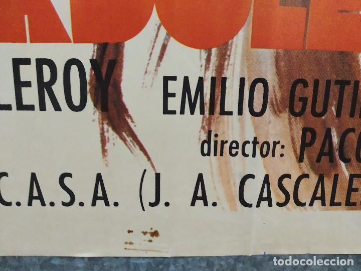 Cine: Cebo para una adolescente. Claudia Cardinale, Emilio Gutiérrez Caba. AÑO 1973. POSTER ORIGINAL - Foto 6 - 217924216