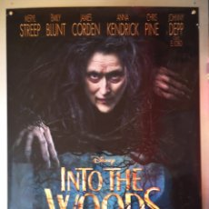 Cine: INTO THE WOODS - 2014 - 70 X 100. Lote 217926220
