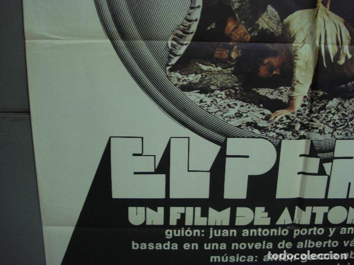 Cine: CDO 5114 EL PERRO ANTONIO ISASI JASON MILLER POSTER ORIGINAL 70X100 ESTRENO - Foto 4 - 217931086