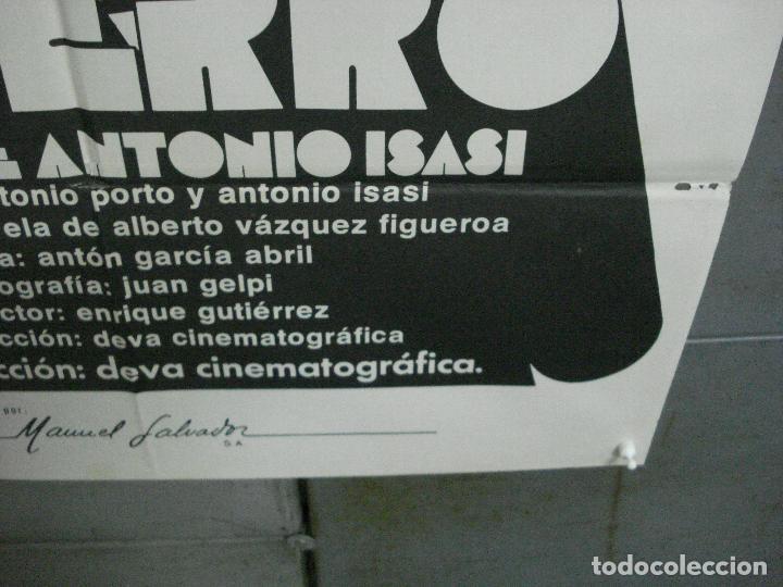 Cine: CDO 5114 EL PERRO ANTONIO ISASI JASON MILLER POSTER ORIGINAL 70X100 ESTRENO - Foto 9 - 217931086