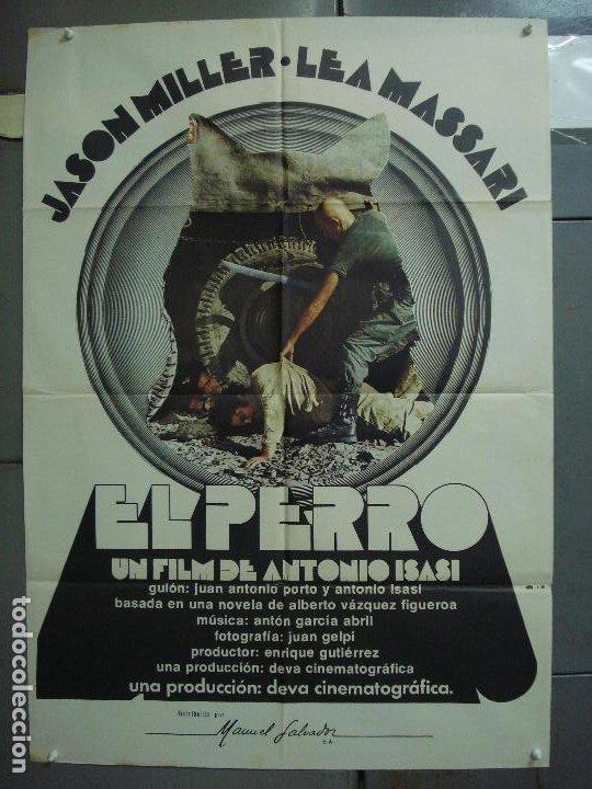 CDO 5114 EL PERRO ANTONIO ISASI JASON MILLER POSTER ORIGINAL 70X100 ESTRENO (Cine - Posters y Carteles - Clasico Español)