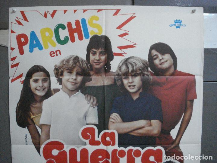 Cine: CDO 5116 LA GUERRA DE LOS NIÑOS PARCHIS POSTER ORIGINAL 70X100 ESTRENO - Foto 2 - 217931700
