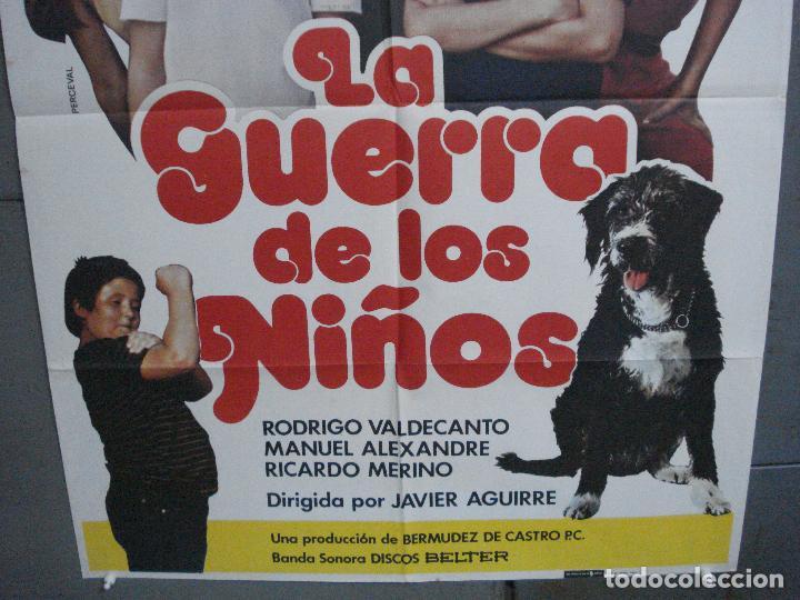Cine: CDO 5116 LA GUERRA DE LOS NIÑOS PARCHIS POSTER ORIGINAL 70X100 ESTRENO - Foto 3 - 217931700
