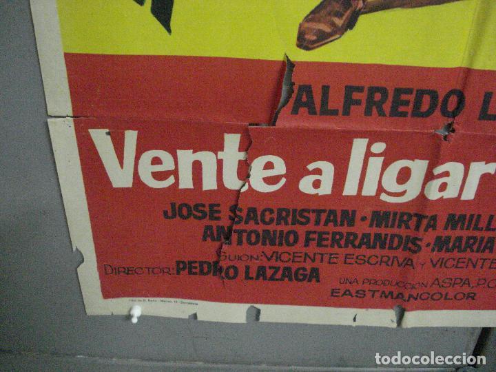 Cine: CDO 5117 VENTE A LIGAR AL OESTE ALFREDO LANDA MIRTA MILLER POSTER ORIGINAL 70X100 ESTRENO - Foto 5 - 217931958