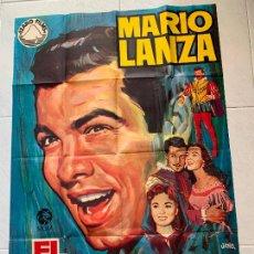 Cine: ENRICO CARUSO CARTEL CINE ORIGINAL 1970 MARIO LANZA JANO. Lote 217965242