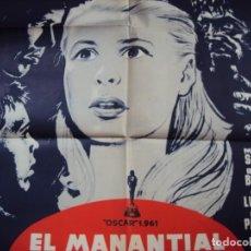 Cine: (CINE-525)CARTEL ORIGINAL MANANTIAL DE LA DOCELLA - IGMAR BERMARG - OSCAR 1961. Lote 217986378