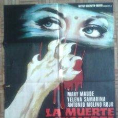 Cine: LA MUERTE INCIERTA. JOSÉ RAMÓN LARRAZ. Lote 253700425