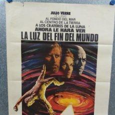 Cine: LA LUZ DEL FIN DEL MUNDO. KIRK DOUGLAS, YUL BRYNNER, SAMANTHA EGGAR AÑO 1971. POSTER ORIGINAL. Lote 218018890