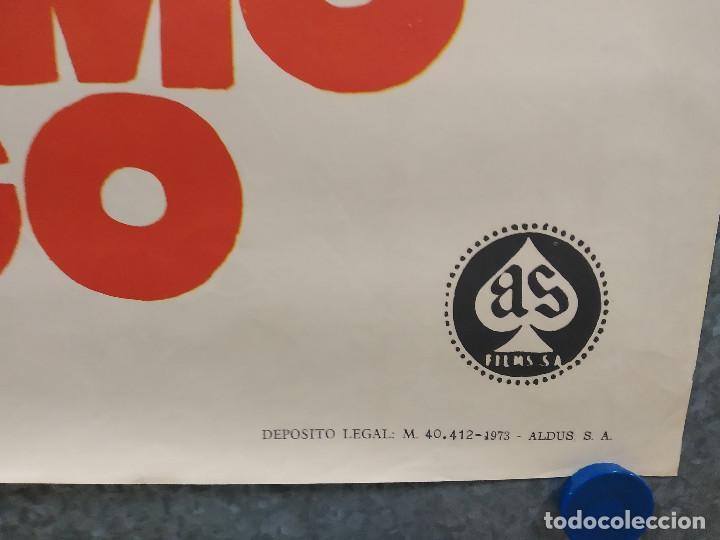Cine: No hay humo sin fuego. Annie Girardot, Mireille Darc, Bernard Fresson AÑO 1973. POSTER ORIGINAL - Foto 5 - 218020835