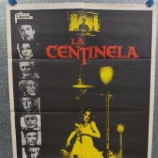 Cine: LA CENTINELA. CRISTINA RAINES, CHRIS SARANDON, BURGESS MEREDITH AÑO 1979. POSTER ORIGINAL. Lote 218021451