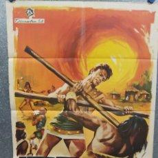 Cine: HÉRCULES CONTRA LOS HIJOS DEL SOL. MARK FOREST, ANNA-MARIA PACE. AÑO 1979. POSTER ORIGINAL. Lote 218022985