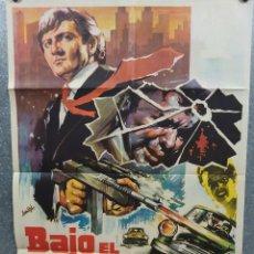 Cine: BAJO EL IMPERIO DEL HAMPA. REGINA TORNE, CARLOS EAST. AÑO 1969. POSTER ORIGINAL. Lote 218023343