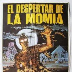 Cine: EL DESPERTAR DE LA MOMIA. PÓSTER 70 X 100 CMS.1983.. Lote 218051177