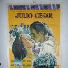 Cine: JULIO CESAR - 110 X 75 - 1953 - LITOGRAFICO. Lote 218073575