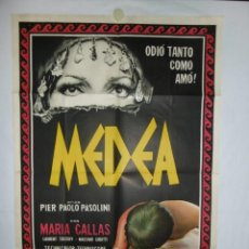 Cine: MEDEA - 110 X 75 - 1969 - LITOGRAFICO. Lote 218073651