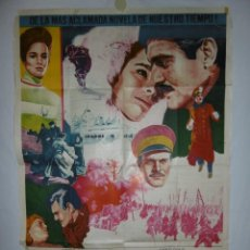 Cine: DOCTOR ZHIVAGO - 110 X 75 - 1965 - LITOGRAFICO. Lote 218073780