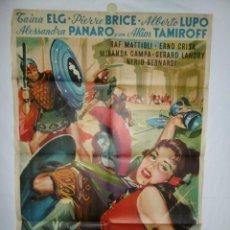 Cine: LAS BACANTES - 110 X 75 - 1961 - LITOGRAFICO. Lote 218073863