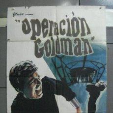 Cine: CDO 5188 OPERACION GOLDMAN ANTHONY ASHLEY DIANA LORYS ESPIAS POSTER ORIGINAL 70X100 ESTRENO. Lote 218128413