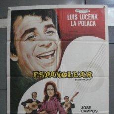 Cine: CDO 5191 ESPAÑOLEAR LUIS LUCENA LA POLACA BALCAZAR POSTER ORIGINAL POSTER ORIGINAL 70X100 ESTRENO. Lote 218131883