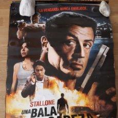 Cine: UNA BALA EN LA CABEZA - APROX 70X100 CARTEL ORIGINAL CINE (L75). Lote 218167106
