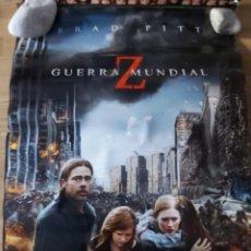 Cine: GUERRA MUNDIAL Z - APROX 70X100 CARTEL ORIGINAL CINE (L75). Lote 218167483
