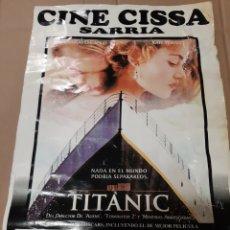 Cine: TITANIC CINE CISSA SARRIA LUGO LIBRERIA O ALMACÉN DO COLISEVM. Lote 218196392