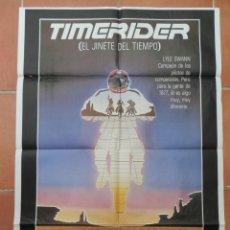 """Cine: GRAN CARTEL DE CINE """"TIMERIDER"""". EL JINETE DEL TIEMPO.. Lote 218219346"""
