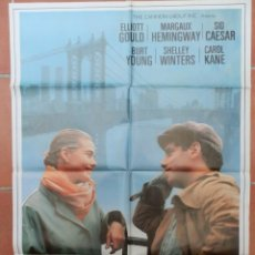 Cine: GRAN CARTEL DE CINE AL OTRO LADO DE BROOKLIN.. Lote 218222223