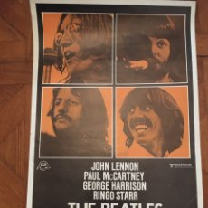 Cine: LET IT BE BEATLES POSTER CARTEL ORIGINAL ESTRENO MUY BUEN ESTADO. Lote 218225312