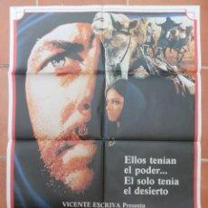 Cine: GRAN CARTEL DE CINE TUAREG VICENTE ESCRIVÁ FILMAYER.. Lote 218230155